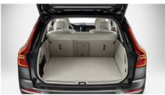 Genuine Volvo XC60 (18-) Textile Reversible Cargo Mat (Colour: Blond)
